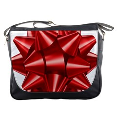 Red Bow Messenger Bags