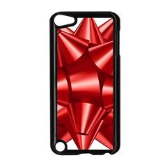 Red Bow Apple Ipod Touch 5 Case (black)