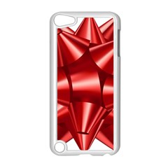 Red Bow Apple Ipod Touch 5 Case (white)