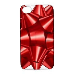 Red Bow Apple Iphone 4/4s Hardshell Case With Stand
