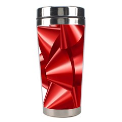 Red Bow Stainless Steel Travel Tumblers