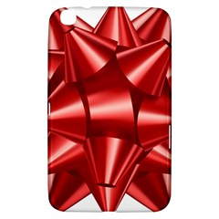 Red Bow Samsung Galaxy Tab 3 (8 ) T3100 Hardshell Case