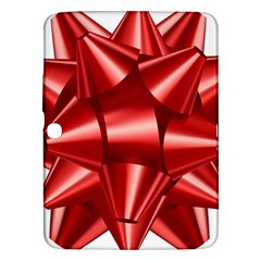 Red Bow Samsung Galaxy Tab 3 (10 1 ) P5200 Hardshell Case