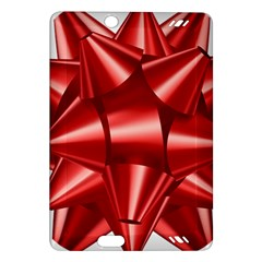 Red Bow Amazon Kindle Fire Hd (2013) Hardshell Case