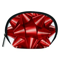 Red Bow Accessory Pouches (medium)