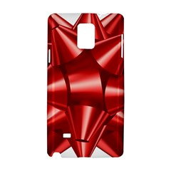 Red Bow Samsung Galaxy Note 4 Hardshell Case
