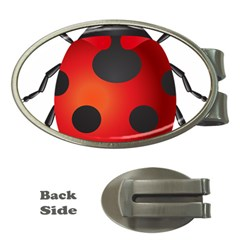 Ladybug Insects Money Clips (oval)