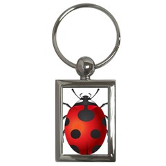 Ladybug Insects Key Chains (rectangle)