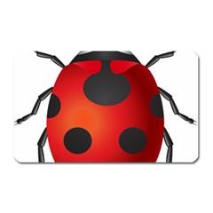 Ladybug Insects Magnet (rectangular)