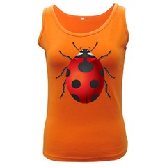 Ladybug Insects Women s Dark Tank Top