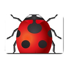 Ladybug Insects Small Doormat