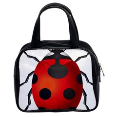 Ladybug Insects Classic Handbags (2 Sides)