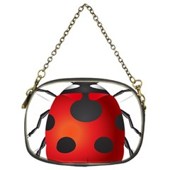 Ladybug Insects Chain Purses (two Sides)
