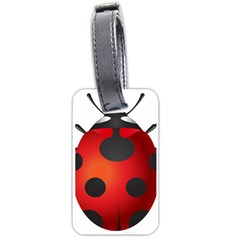 Ladybug Insects Luggage Tags (one Side)