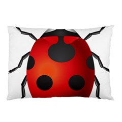 Ladybug Insects Pillow Case (two Sides)