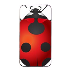 Ladybug Insects Apple Iphone 4/4s Seamless Case (black)