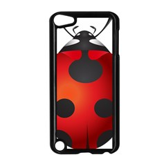 Ladybug Insects Apple Ipod Touch 5 Case (black)