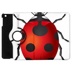 Ladybug Insects Apple Ipad Mini Flip 360 Case