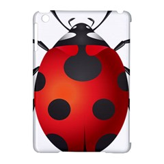Ladybug Insects Apple Ipad Mini Hardshell Case (compatible With Smart Cover)