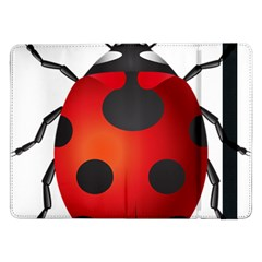 Ladybug Insects Samsung Galaxy Tab Pro 12 2  Flip Case