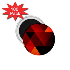 Abstract Triangle Wallpaper 1 75  Magnets (100 Pack)