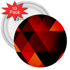Abstract Triangle Wallpaper 3  Buttons (10 Pack)