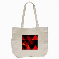 Abstract Triangle Wallpaper Tote Bag (cream)