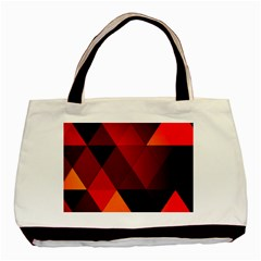 Abstract Triangle Wallpaper Basic Tote Bag