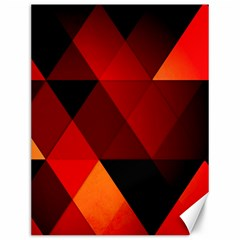 Abstract Triangle Wallpaper Canvas 12  X 16