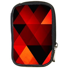 Abstract Triangle Wallpaper Compact Camera Cases