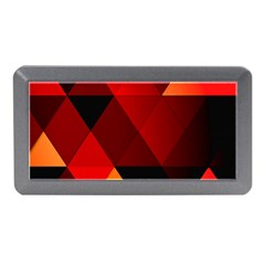 Abstract Triangle Wallpaper Memory Card Reader (mini)
