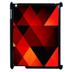 Abstract Triangle Wallpaper Apple Ipad 2 Case (black)