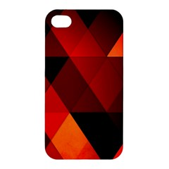 Abstract Triangle Wallpaper Apple Iphone 4/4s Hardshell Case