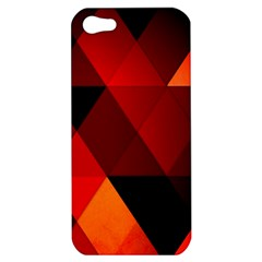 Abstract Triangle Wallpaper Apple Iphone 5 Hardshell Case