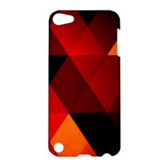 Abstract Triangle Wallpaper Apple Ipod Touch 5 Hardshell Case