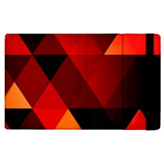Abstract Triangle Wallpaper Apple Ipad 2 Flip Case