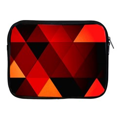 Abstract Triangle Wallpaper Apple Ipad 2/3/4 Zipper Cases
