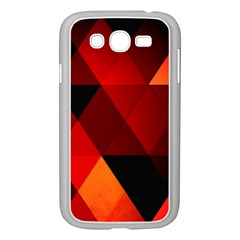 Abstract Triangle Wallpaper Samsung Galaxy Grand Duos I9082 Case (white)