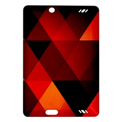Abstract Triangle Wallpaper Amazon Kindle Fire Hd (2013) Hardshell Case