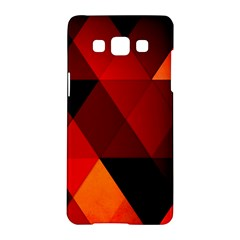 Abstract Triangle Wallpaper Samsung Galaxy A5 Hardshell Case