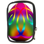 Colorful Easter Egg Compact Camera Cases Front