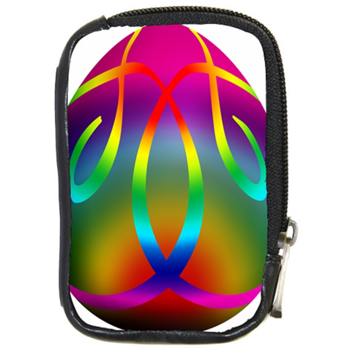 Colorful Easter Egg Compact Camera Cases