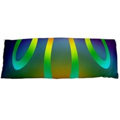 Colorful Easter Egg Body Pillow Case (dakimakura)