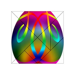 Colorful Easter Egg Acrylic Tangram Puzzle (4  X 4 )