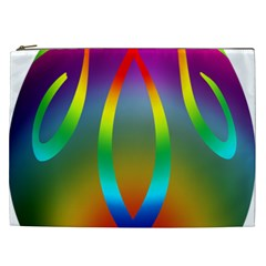 Colorful Easter Egg Cosmetic Bag (xxl)