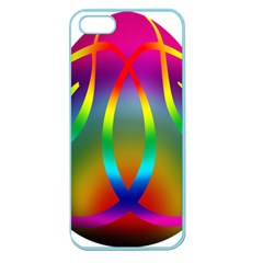 Colorful Easter Egg Apple Seamless Iphone 5 Case (color)