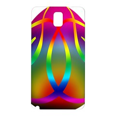 Colorful Easter Egg Samsung Galaxy Note 3 N9005 Hardshell Back Case