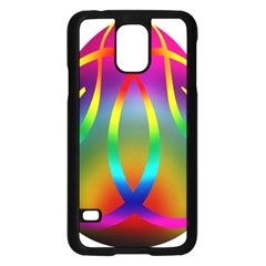 Colorful Easter Egg Samsung Galaxy S5 Case (black)