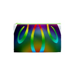 Colorful Easter Egg Cosmetic Bag (xs)