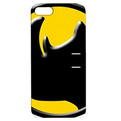 Black Rhino Logo Apple Iphone 5 Hardshell Case With Stand